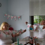 It´s my Party Denise und Marget - mit Girlanden