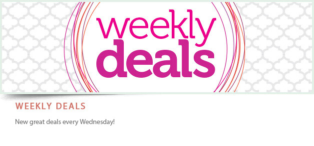 Banner Weekly deals Stampin´UP!