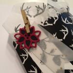 Formen am Christbaum Embellishment Weihnachtsstern