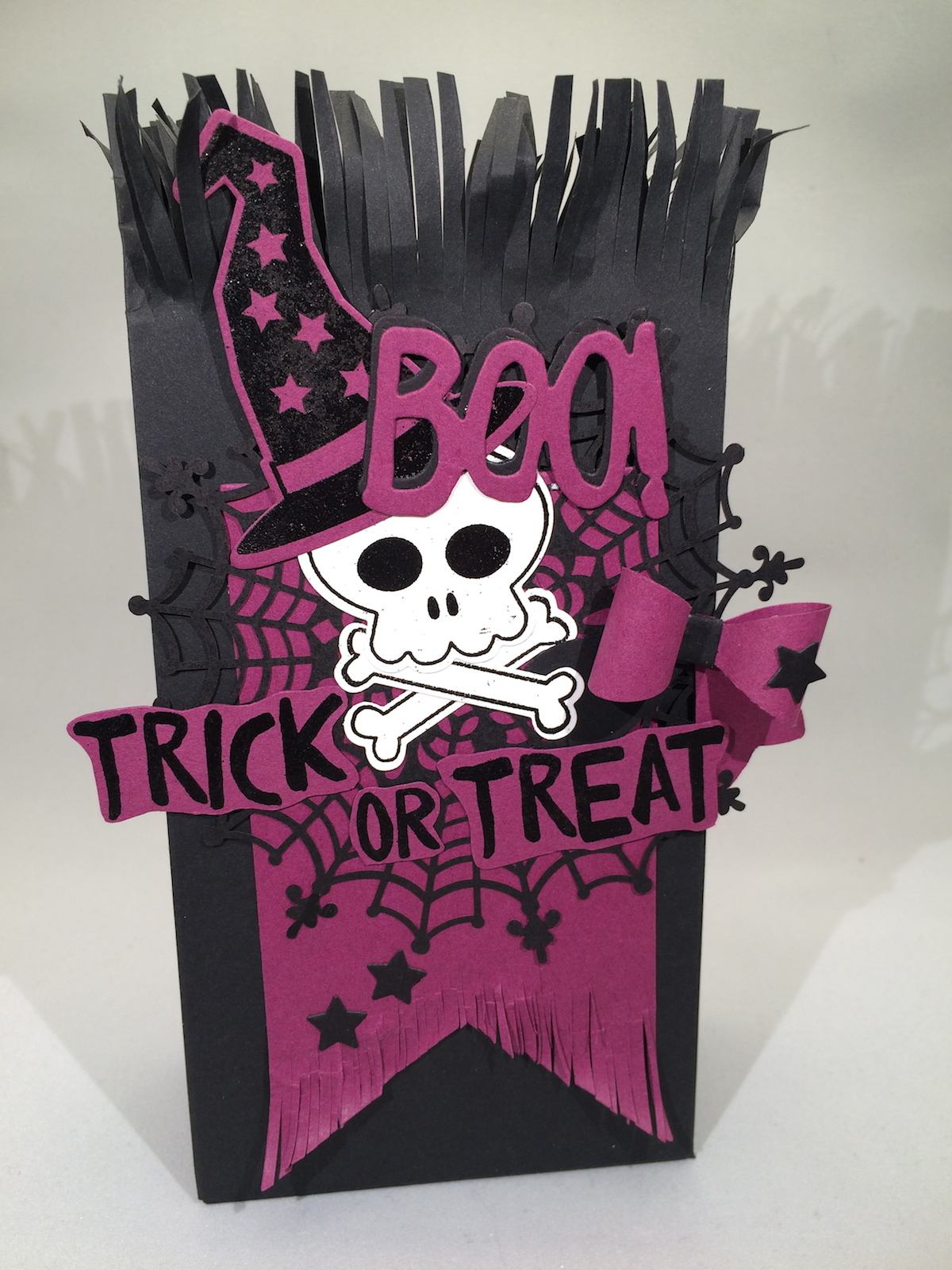 Stampin´UP!, Howl-o-ween Treat, Gift Bag Punch Board, Geschenktüte, Trick or Treat