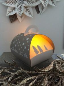Stampin´UP!, Curvy Keepsake Box, Zierschachtel für Andenken, Weihnachten, Christmas, Sleigh Ride, Schlittenfahrt, Beleuchtet, Illuminated, Tip Top Taupe