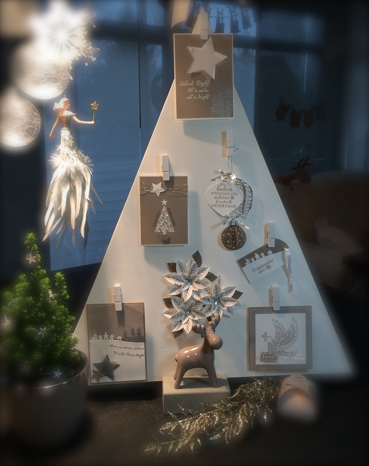 Stampin´UP! Weihnachtsbaum, Christmas Tree, Weihnachts Ideen, Christmas Ideas, Tip Top Taupe