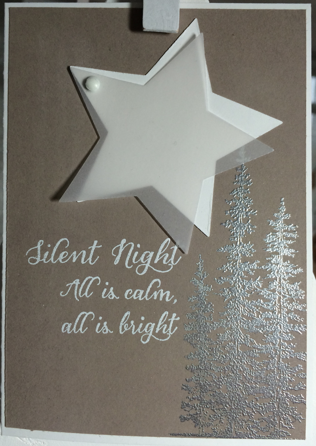 Stampin´UP!, Wonderland, Weihnachtskarte, Christmascard, Tip Top Taupe